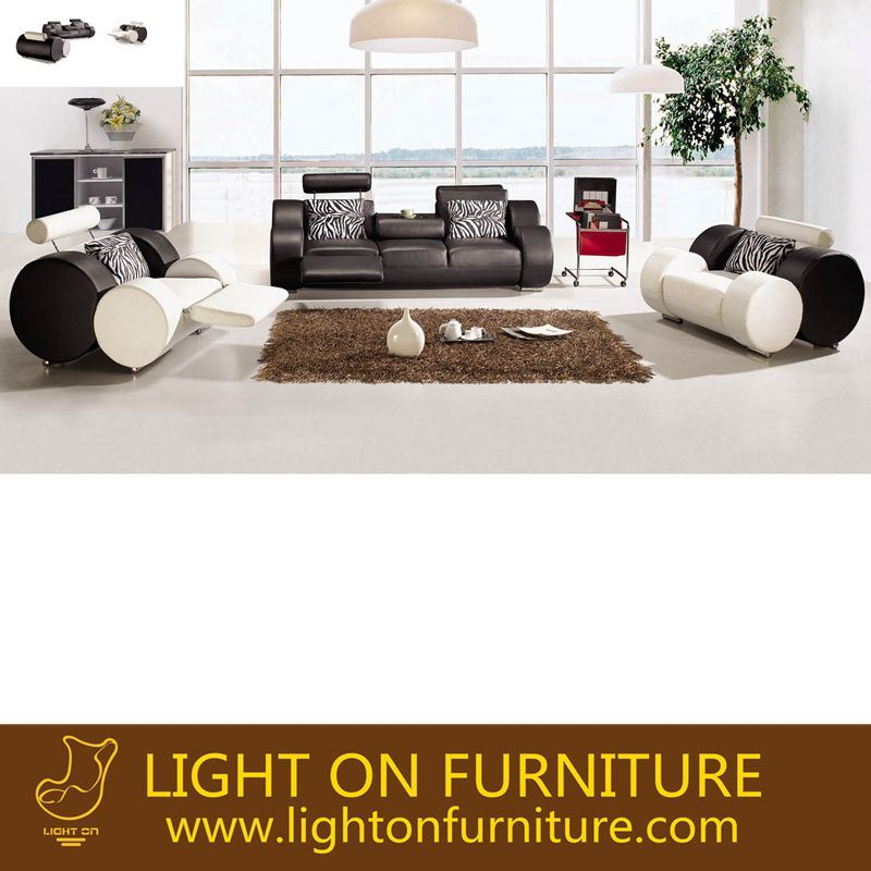 Hot Sell Furniture Modern Design Living Room Leather Sectional Sofa (L050)