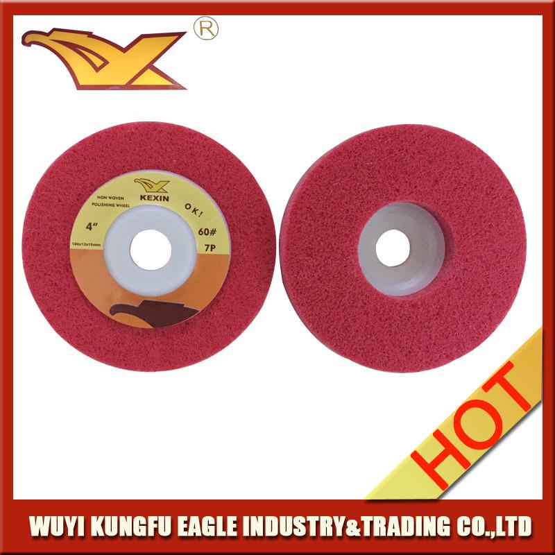 100X15mm Abrasive Polishing Wheel