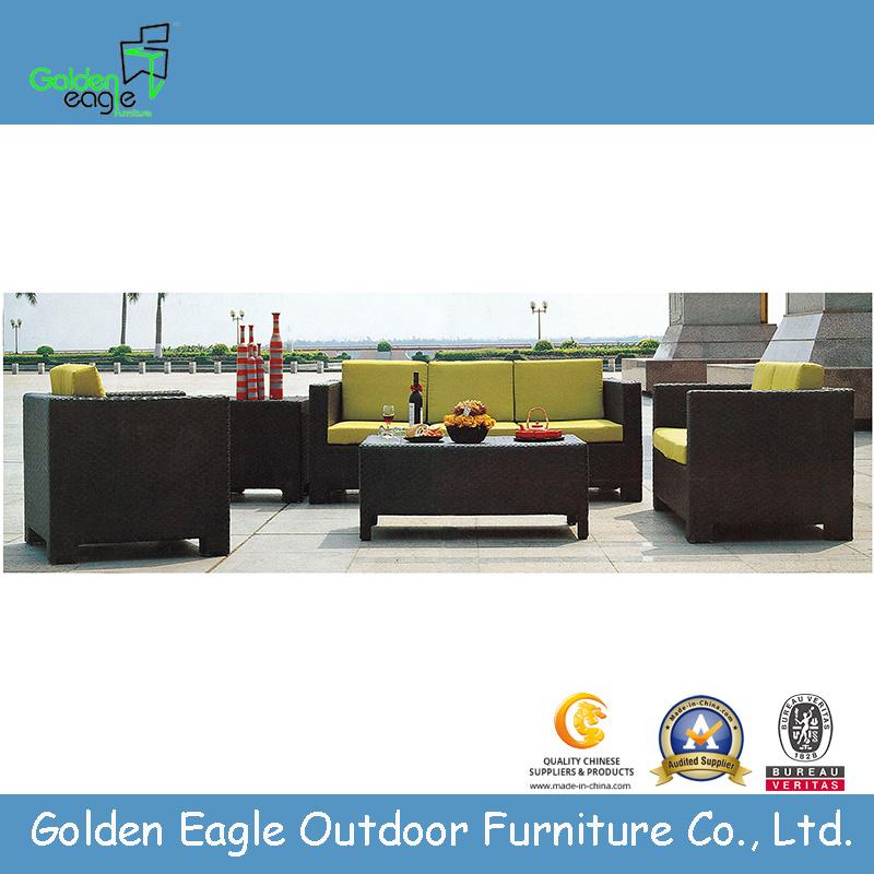 Outdoor Rattan Furniture-Compound Sofa Set (GE-S0017)