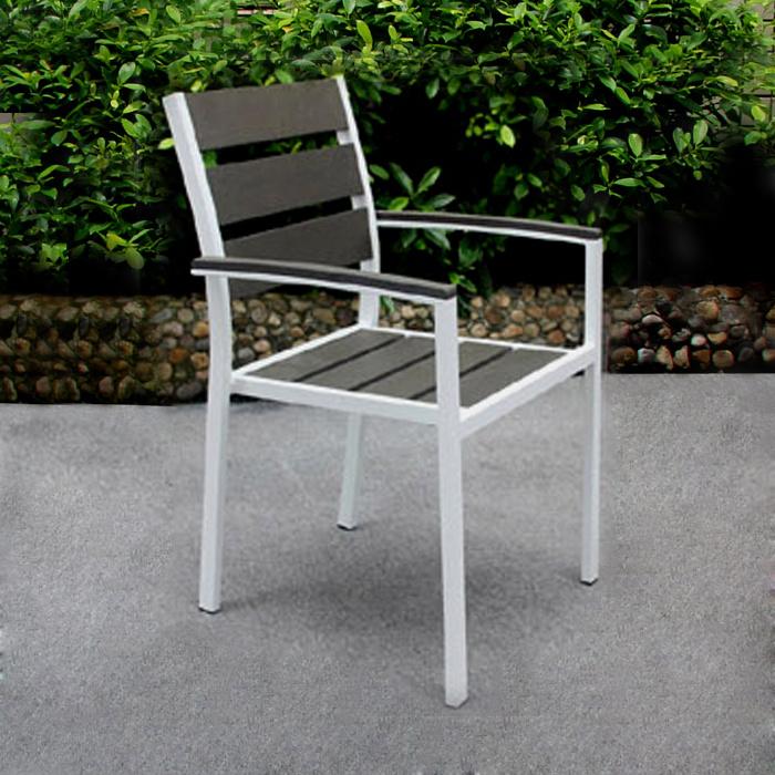 Leisure Garden Dining Aluminum Outdoor Furniture 2017 Aluminum Modern Chair Table Bistro Set