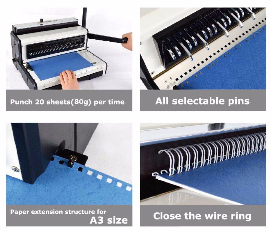 F4 Size Wire Binding Machine (T930)