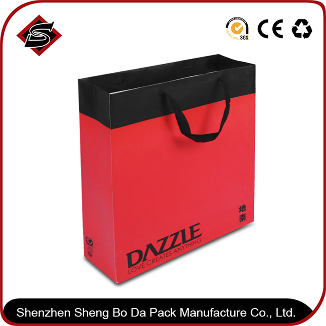 High Quality Customzied Printing Paper Gift Packaging Bag