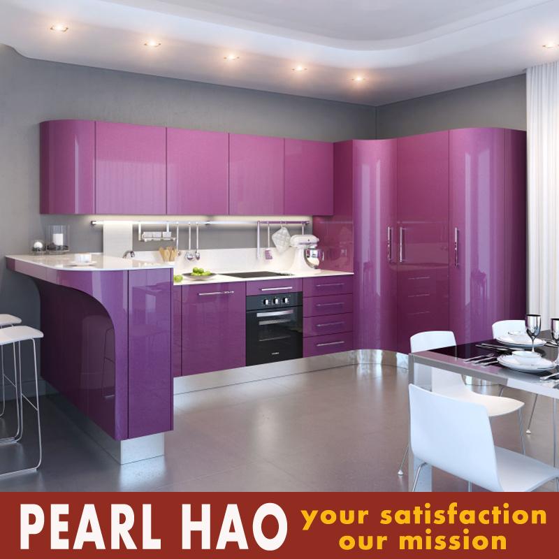 Modern Design High Gloss Acrylic Wood Kitchen Cabinet