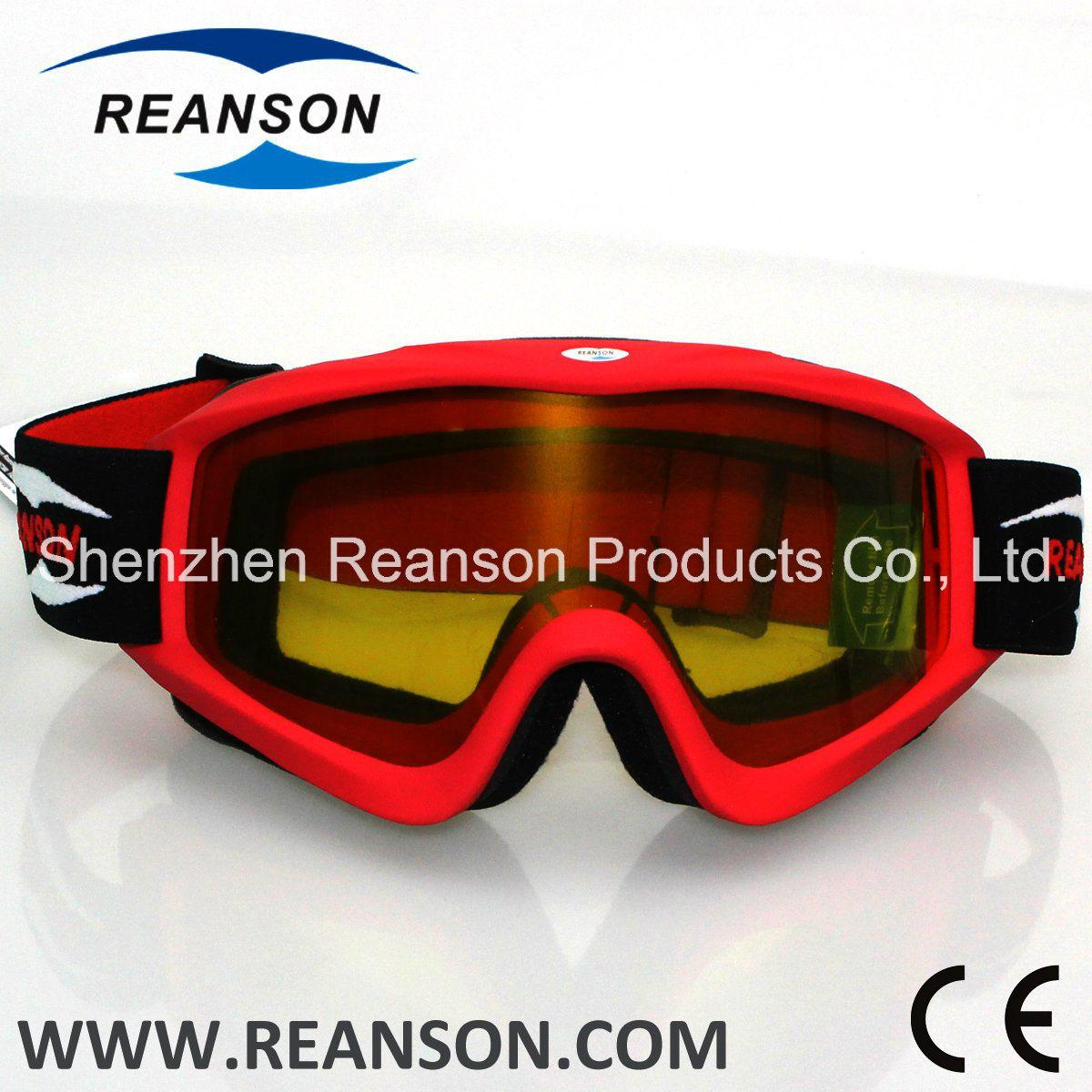 Reanson Professional Anti-Fog Anti-Scratch Motocross Goggle