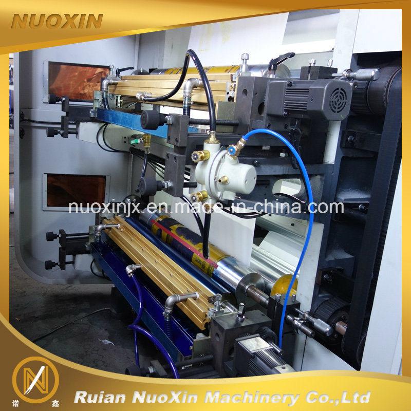 130mm/Min 4 Colour Plastic Film Flexographic Printing Machine
