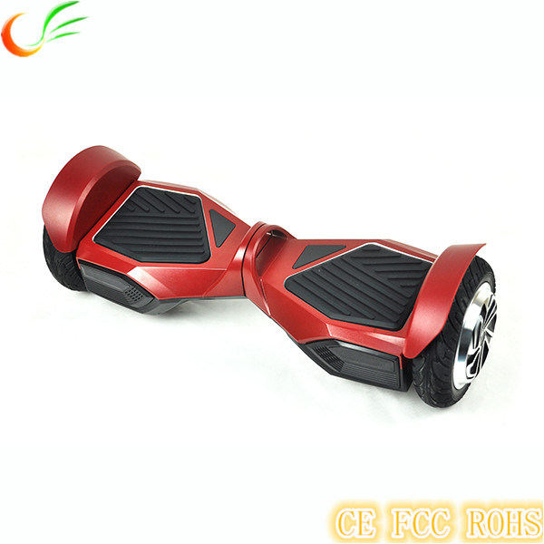 Aluminium Alloy 8 Inch Bluetooth Hoverboard Two Wheel Electric Balance Scooter with LED Light