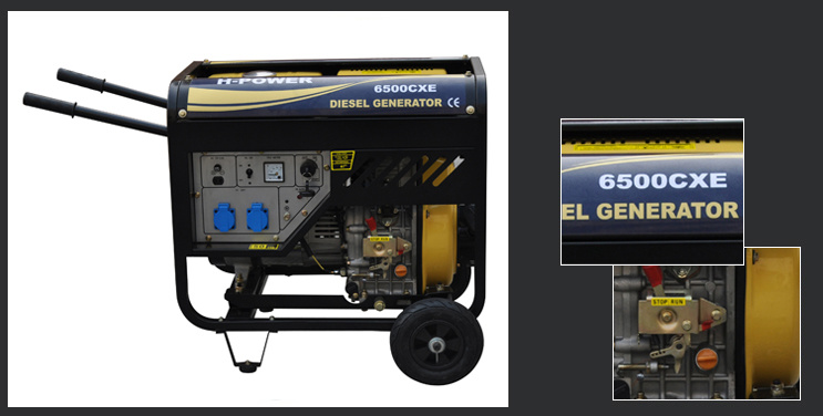 Portable Diesel Generators/ Open Type