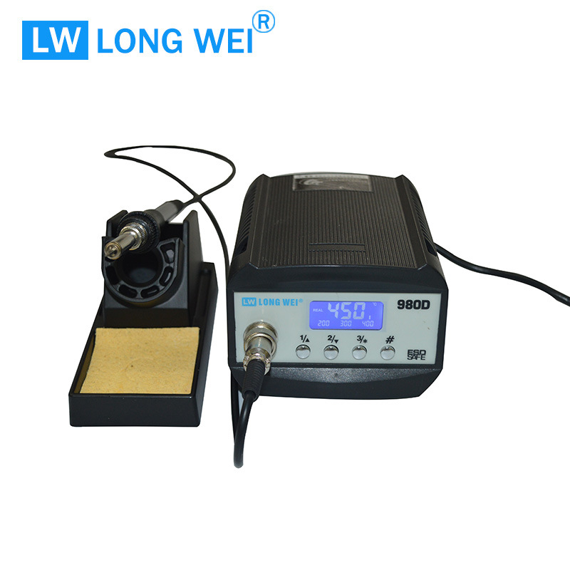 Lw980d 80W SMD Rework Station Repair Tool Welding Machine with Soldering Station