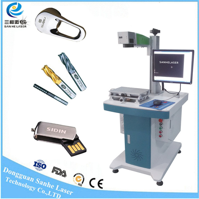 30W 20W Fiber Laser Marking Price Laser Marking Machine for Metal/Glass/Acrylic/Leather/PVC/MDF