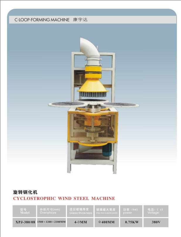 Glass Equipment Sz-320 Rotating Toughened Furnace