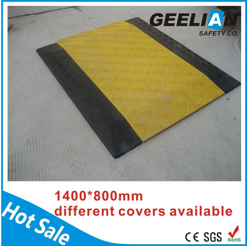 New Design Roadside Construction Plastic Pedestrian Bridge Trench Cover