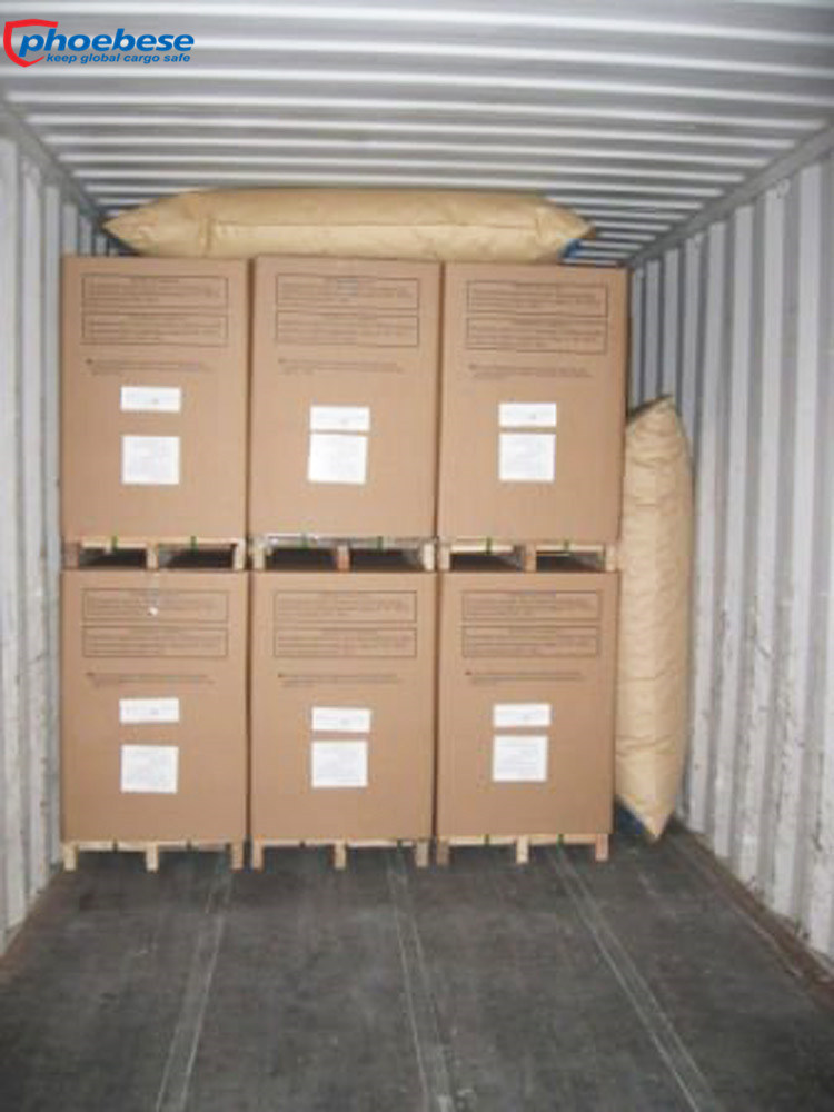 Easy Using Shipping Containers Kraft Paper Dunnage Air Bags for Train Carriages