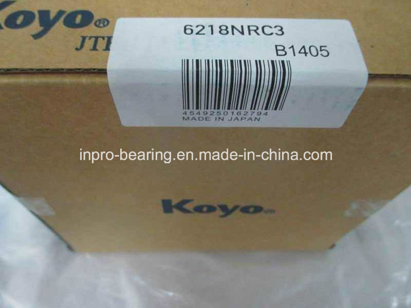 High Precision Industrial Deep Groove Ball Bearing Koyo 6215, 6216, 6217, 6218, 6219 Zz/2RS