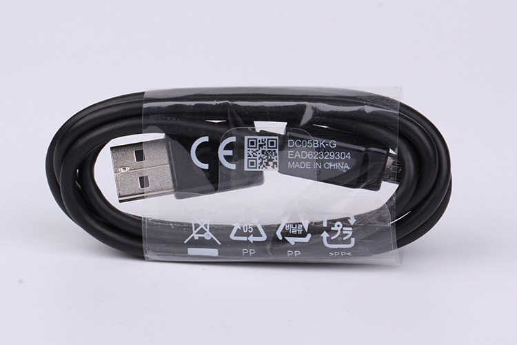 Original for Samsung S3 S4 S6 Black Micro USB Cable