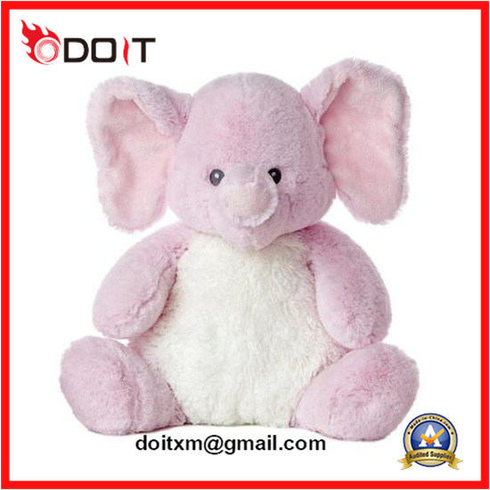 Stuffed Animal Elephant Pink Plush Toy Elephant Stuffed Animal