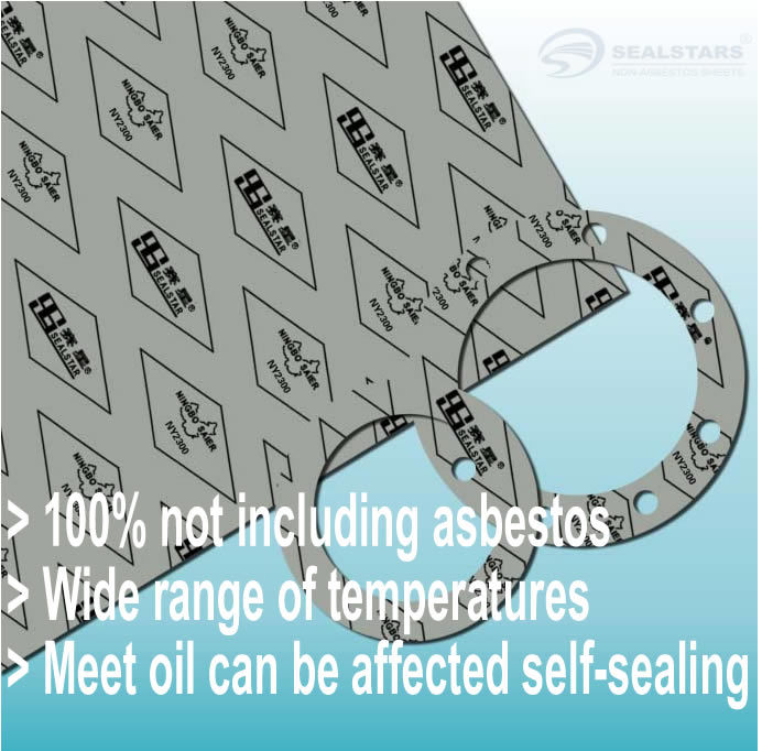 China non asbestos gasket sheet