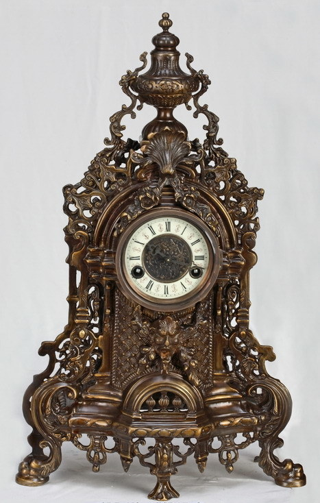 Bronze Mechanical Clock (SP17-3)