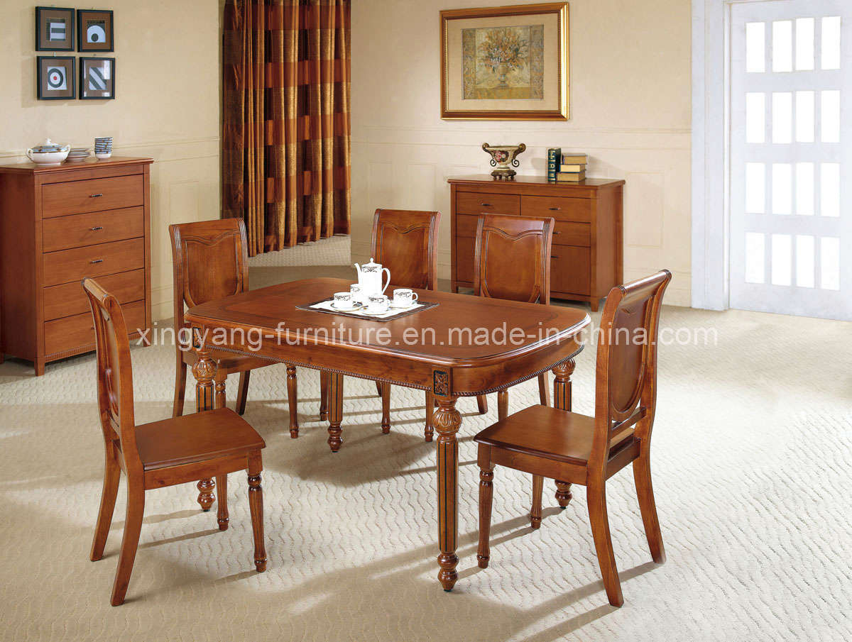 China home furniture dining room furniture wood for Wooden dining room furniture