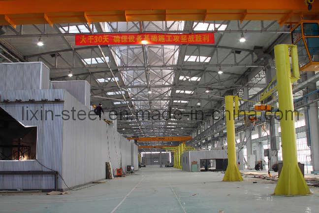 Metal Prefabricated Workshop for Repairing Train