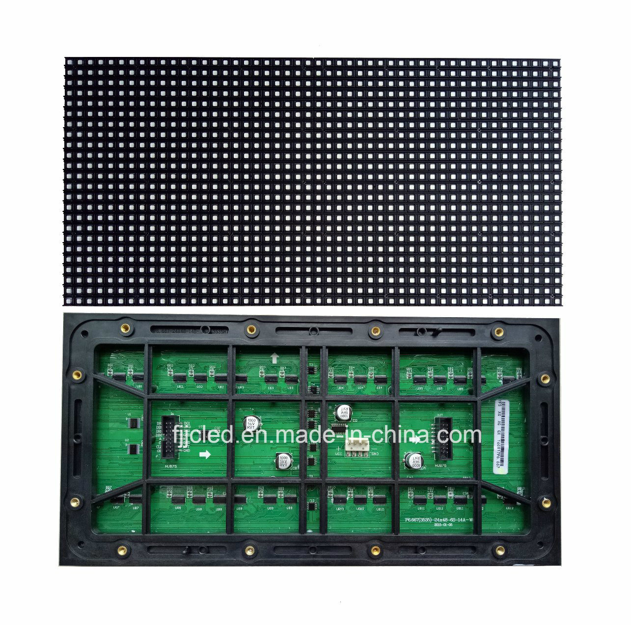 P6.67 LED Video LED Display with Customized Size (320*160mm)