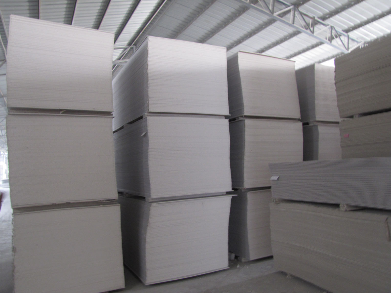 Fireproof Gypsum Board : China fireproof paper faced gypsum board