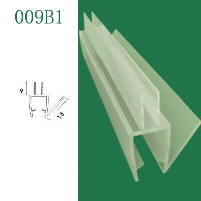 Glass Bathroom Doors on Pvc Shower Door Seal   For Glass Shower Doors And Bath Screens  009b1