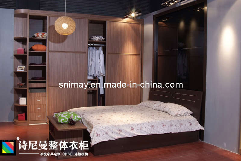 Royal Series E1 Grade MDF Wardrobe With Sliding Doors Home Furniture