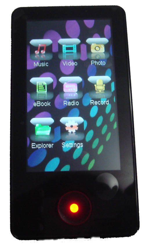3.5 inch Touch Screen MP5 Player - MP5 Player