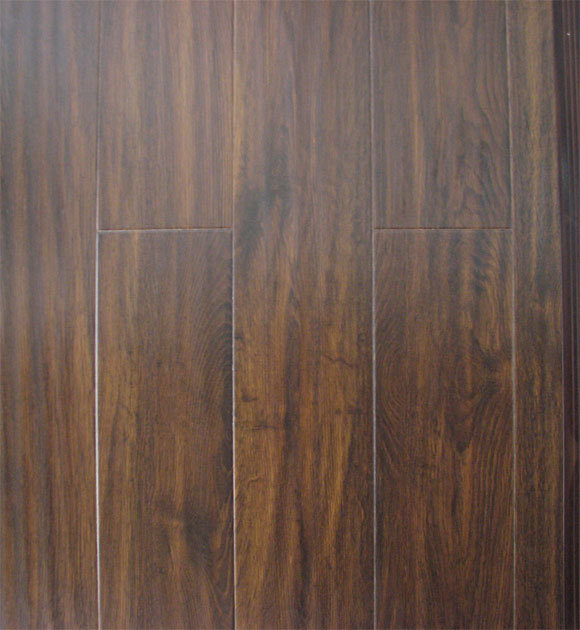 China green handscaped laminated wood flooring 9050 for Laminated wood