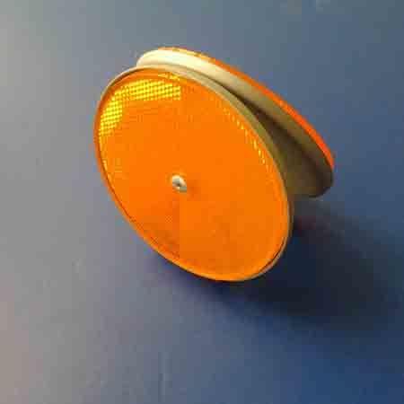Metal Base Reflective Delineator (RFL-03)