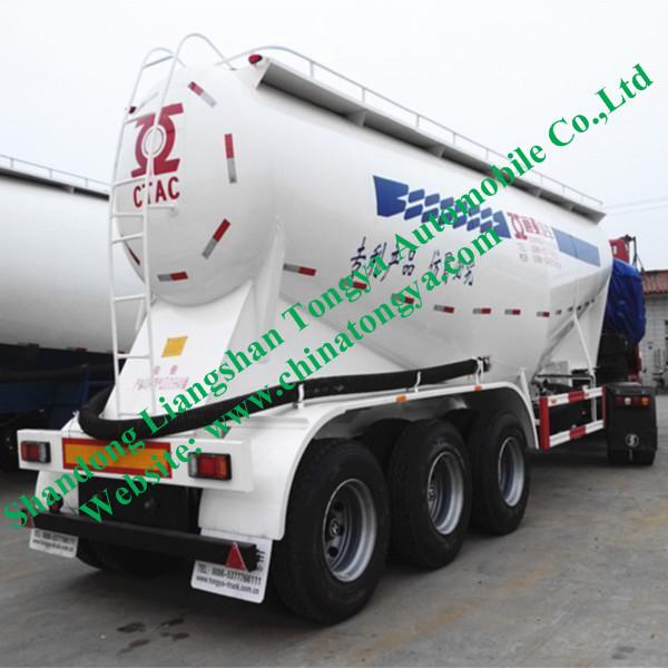 50 Tons Cement Tank Semi Trailer