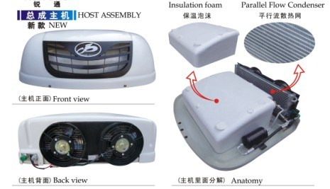 Rear air conditioners heaters condensers discount van truck