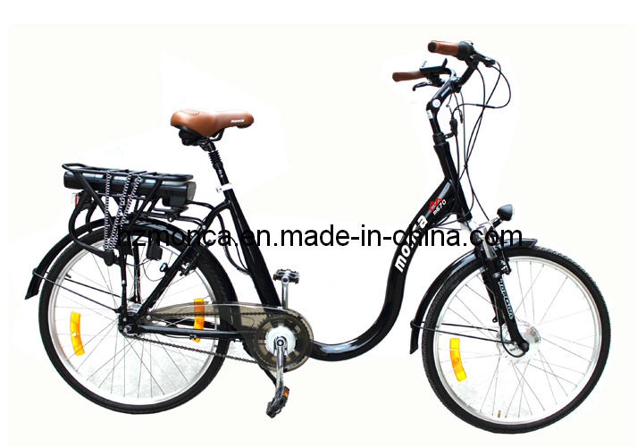 Monca Big Promotion Easy Electric Bicycle City E Bike for Old Man Riding (M790)