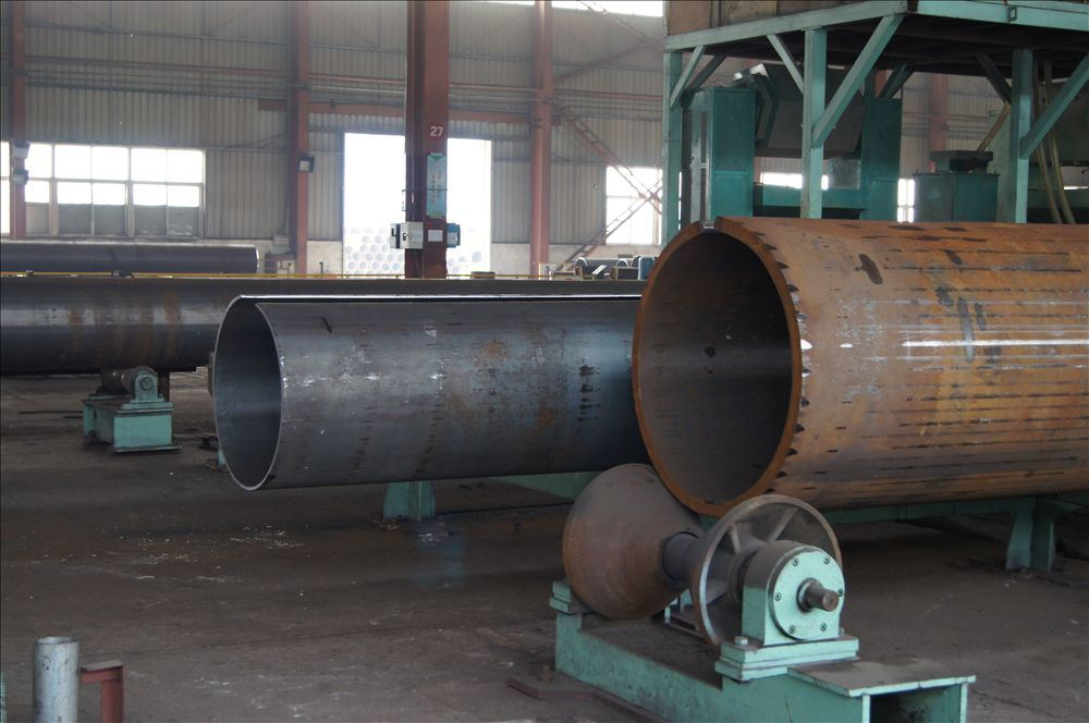 China large diameter steel pipe with heavy wall thickness
