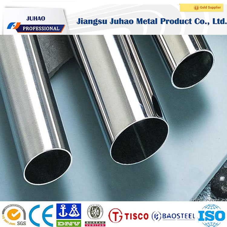 ASTM AISI 304 316 Stainless Steel Tube Pipes for Kitchen Use