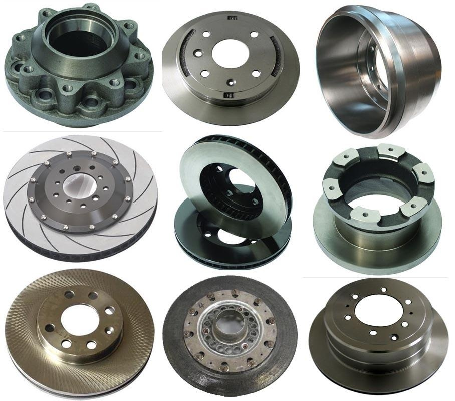 TS16949 Approved Brake Rotors for Toyota Nissan VW-Audi Cars