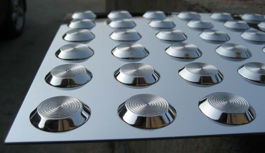 Stainless Steel Tactile Indicator Mat (XC-MDB6005)