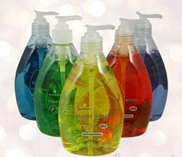 Moisturizing Anti-Bacterial Liquid Hand Soap with Aloe Vera