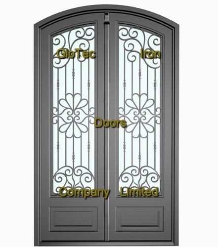 Door security door security wrought iron for Wrought iron security doors