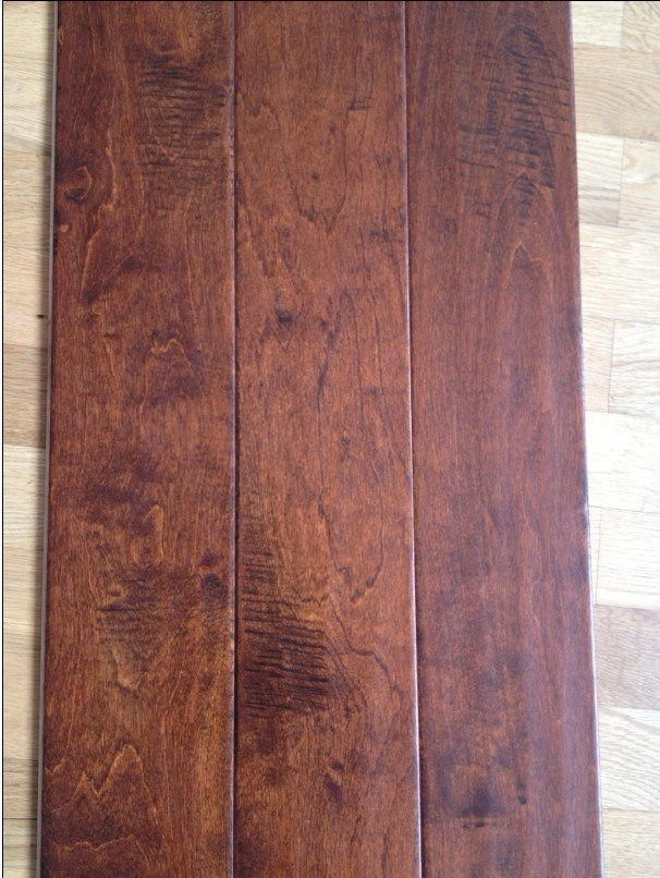 China birch wood flooring handscraped china flooring for Birch hardwood flooring