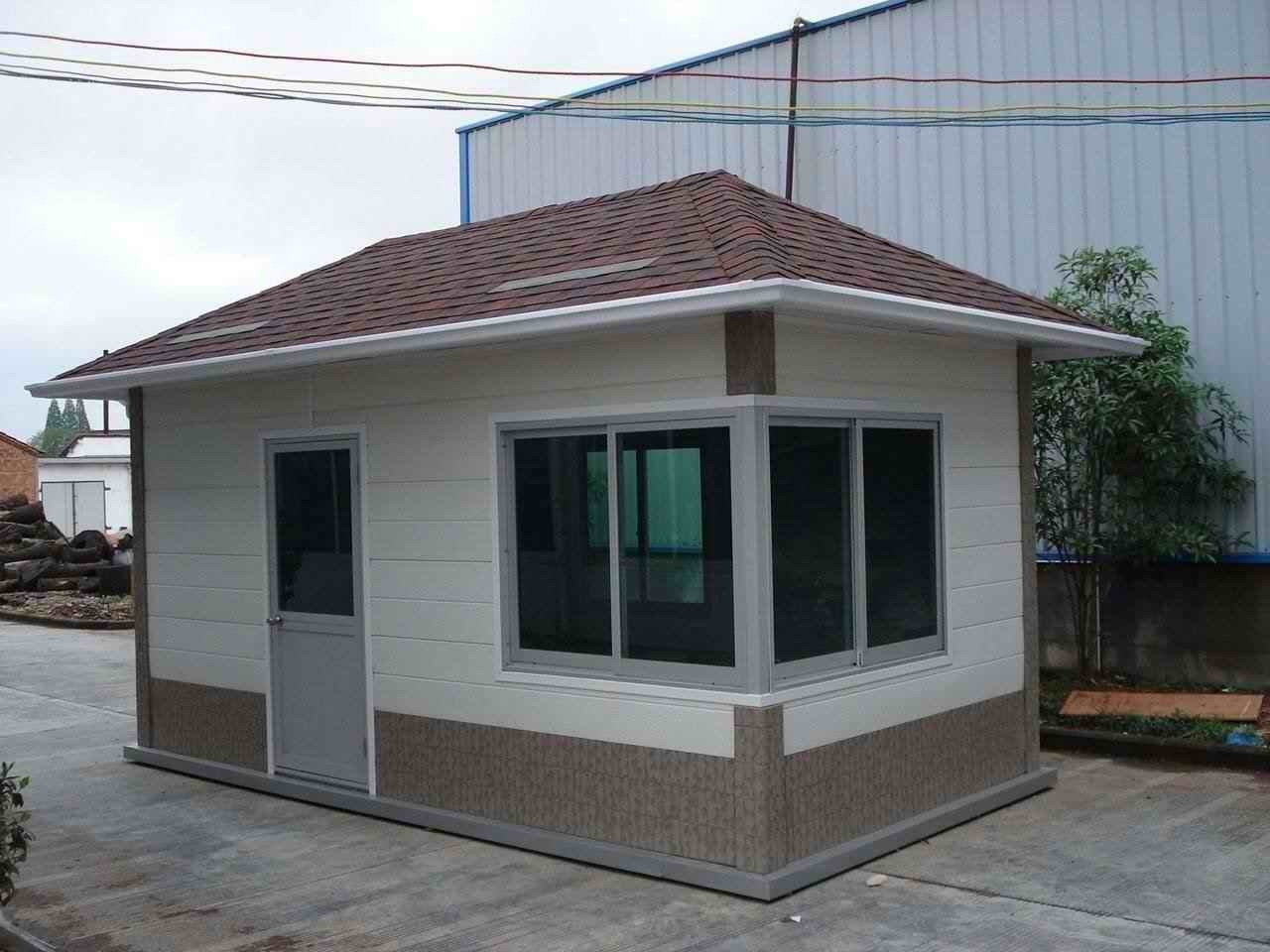 China Steel Structure Prefabricated House Hy006 China