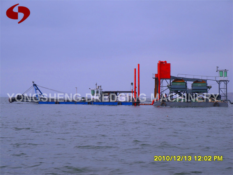 Iron Cutter Suction Dredger