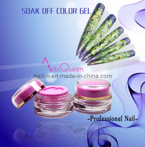 Soak-off Nail Gel, UV Gel, Soak-off Color Gel, Nail Beauty