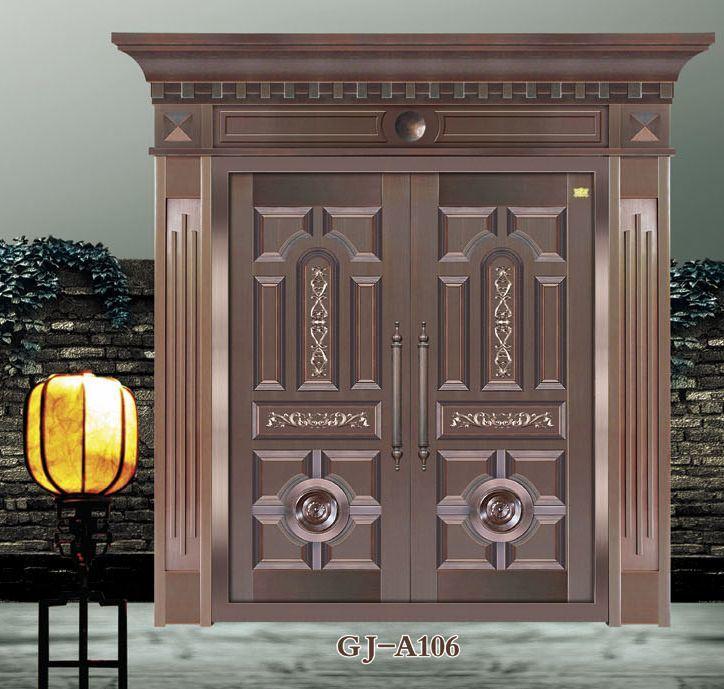 Security Door / Front Steel Door (GJA106) 724 x 689 · 99 kB · jpeg