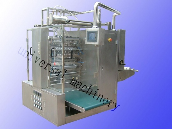 China Ice Lolly Packaging Machine With Multi Lane Dxd