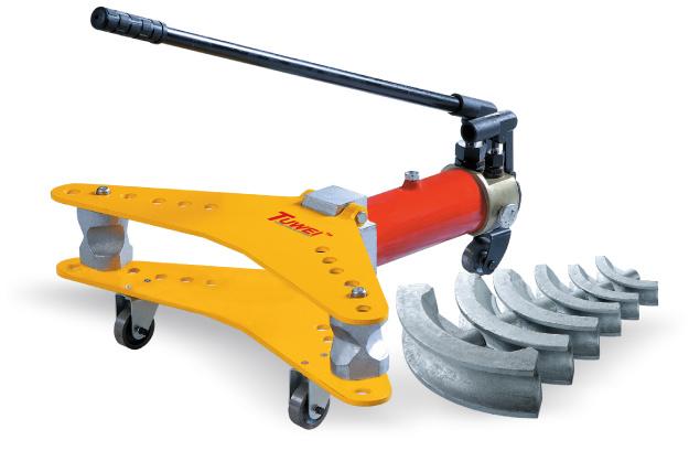 Hydraulic Pipe Bending Machines : China manual hydraulic pipe bending machine swg a photos