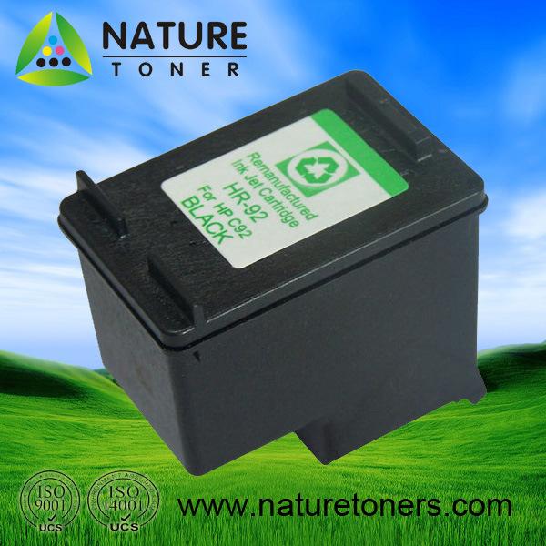 Remanufactured Ink Cartridge No. 92 (C9362W) for HP Inkjet Printer