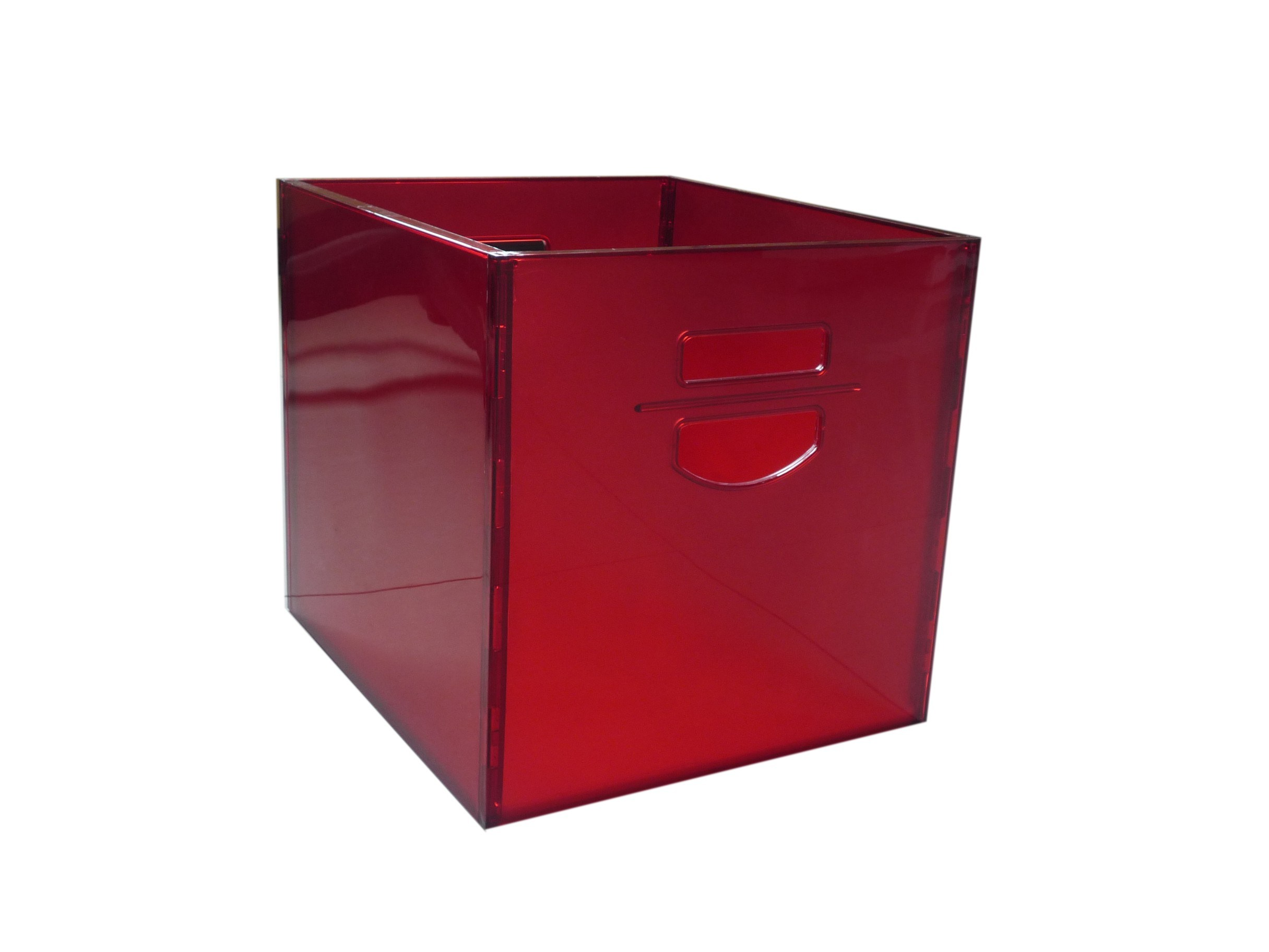 Plastic Storage Cubes B In Bin Plastic Full Clear 4 Piece  sc 1 st  Listitdallas & Acrylic Storage Cubes - Listitdallas