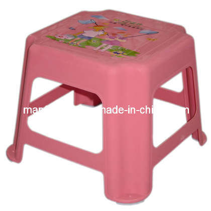 Small Size Stool With Printing Plastic Stool Kids Stool