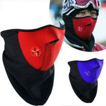 Snowboard Bike Motorcycle Warm Neoprene Winter Half Face Ski Mask